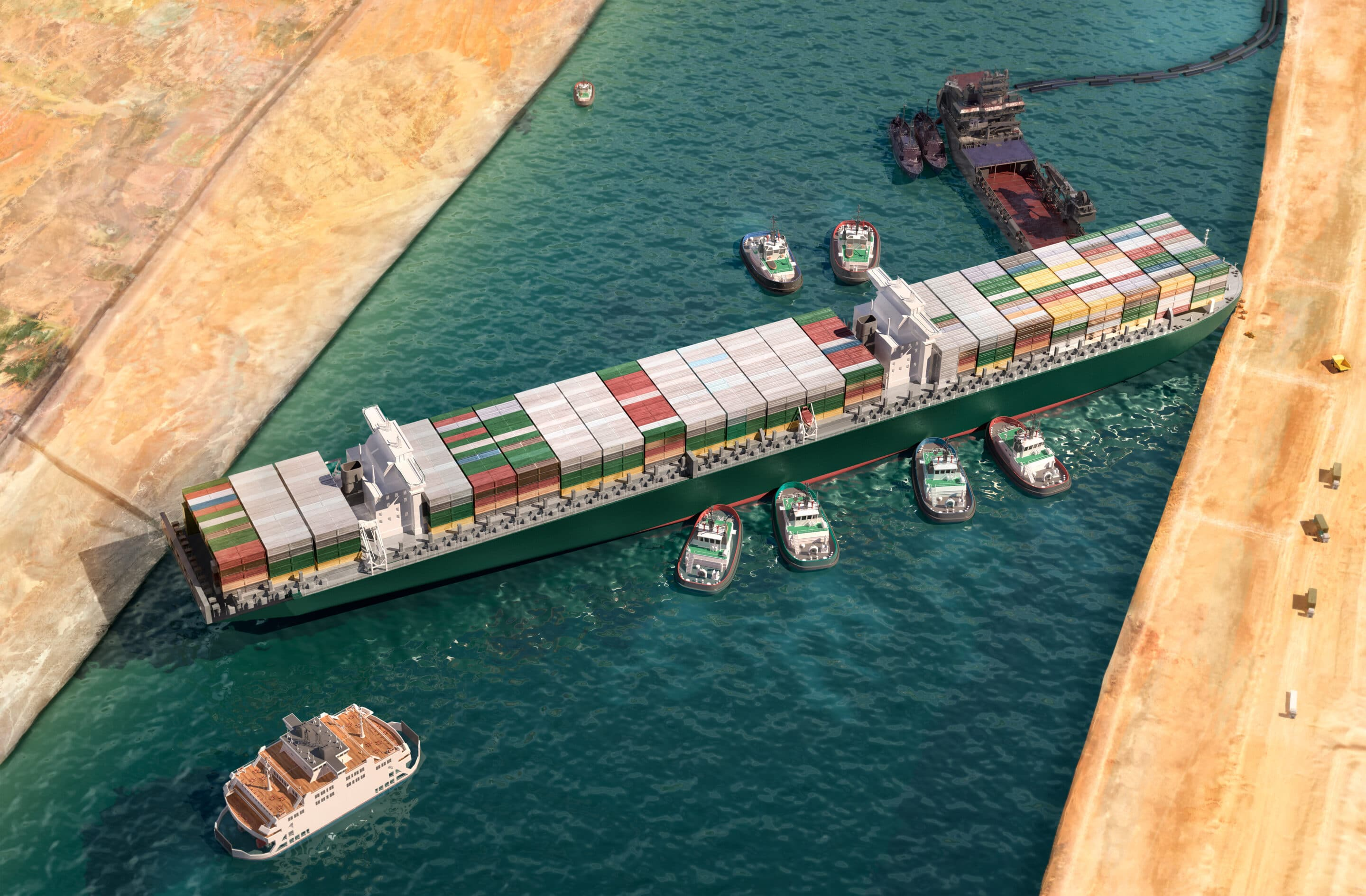 Was Ever Given Never Given A Chance In The Suez Canal?