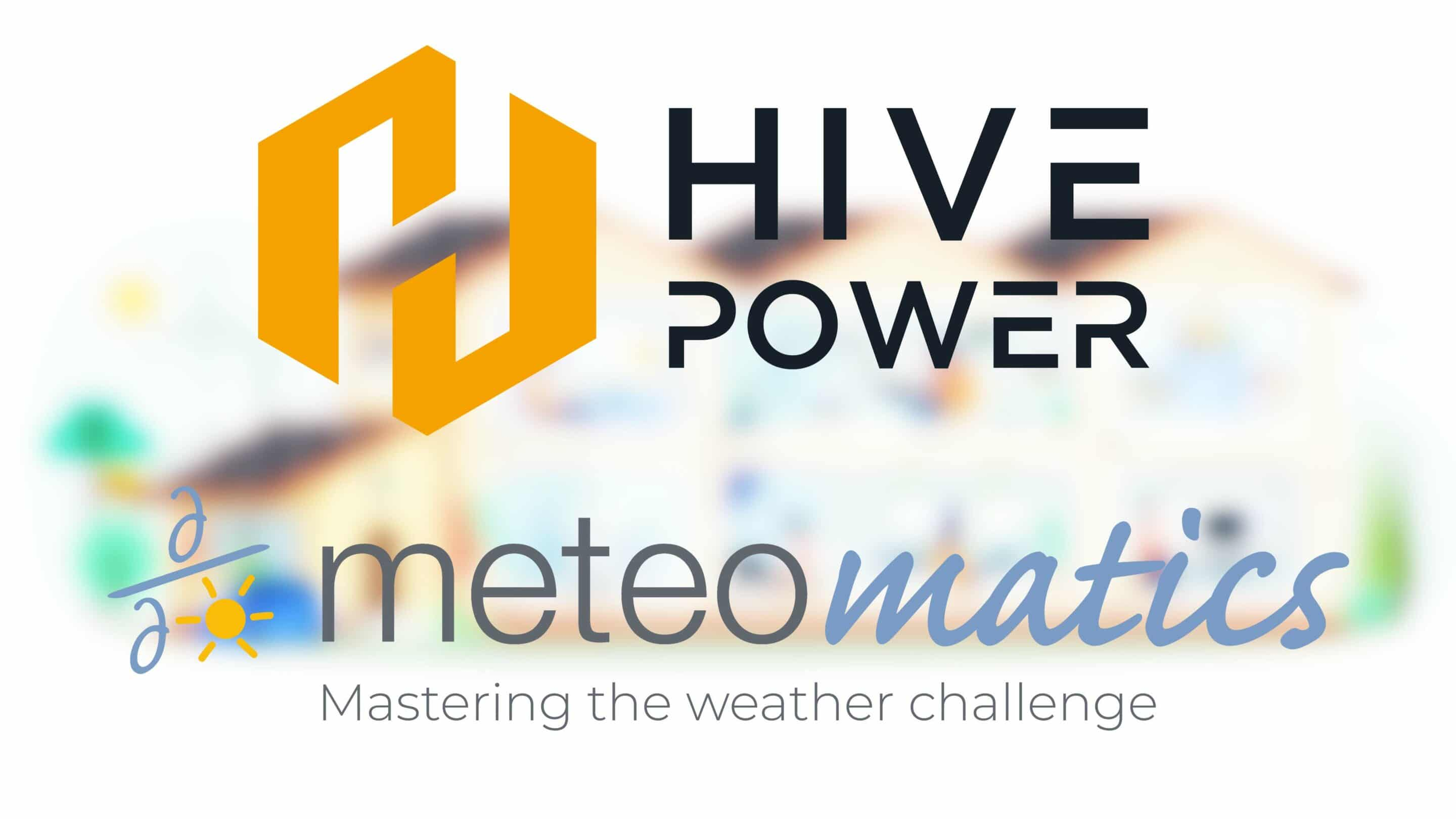 Meteomatics and Hive Power Agree Strategic Partnership: Bringing machine learning techniques to more accurately predict energy consumption and generation.